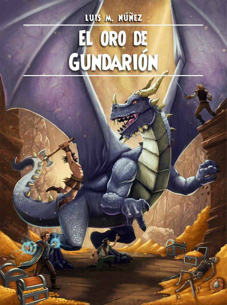 Una de las novelas sorteadas: El oro de Gundarión