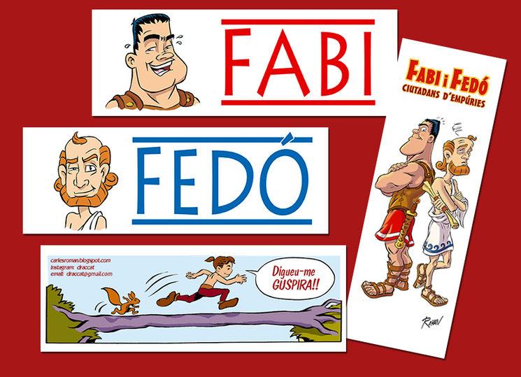 4 punts de llibre amb Fabi, Fedó i Guspira (el petit indigeta)!