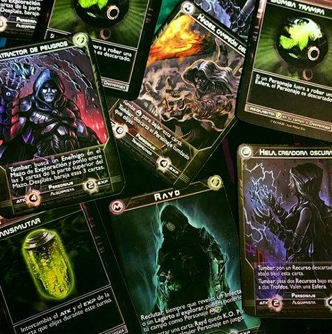 (Materiales de las pruebas de juego) Los ALQUIMISTAS darán un vuelco a todo con efectos inesperados y devastadores combos.
