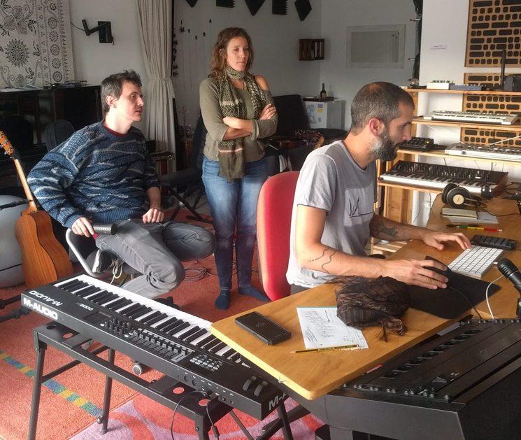 Pau Brugada i Vic Moliner (Olivera estudi)