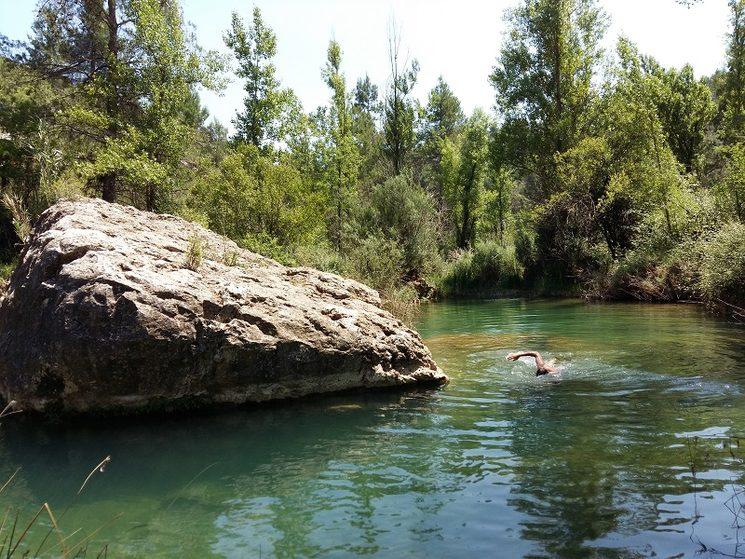 Toll del Río de la Maimona pròxim a la Fuente Pierres