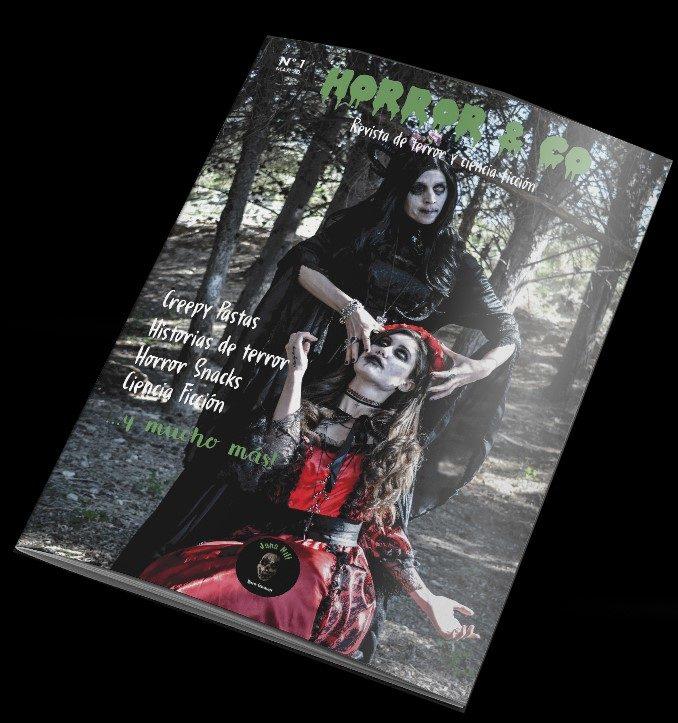 Portada Horror & Co: Experience Terror Magazine
