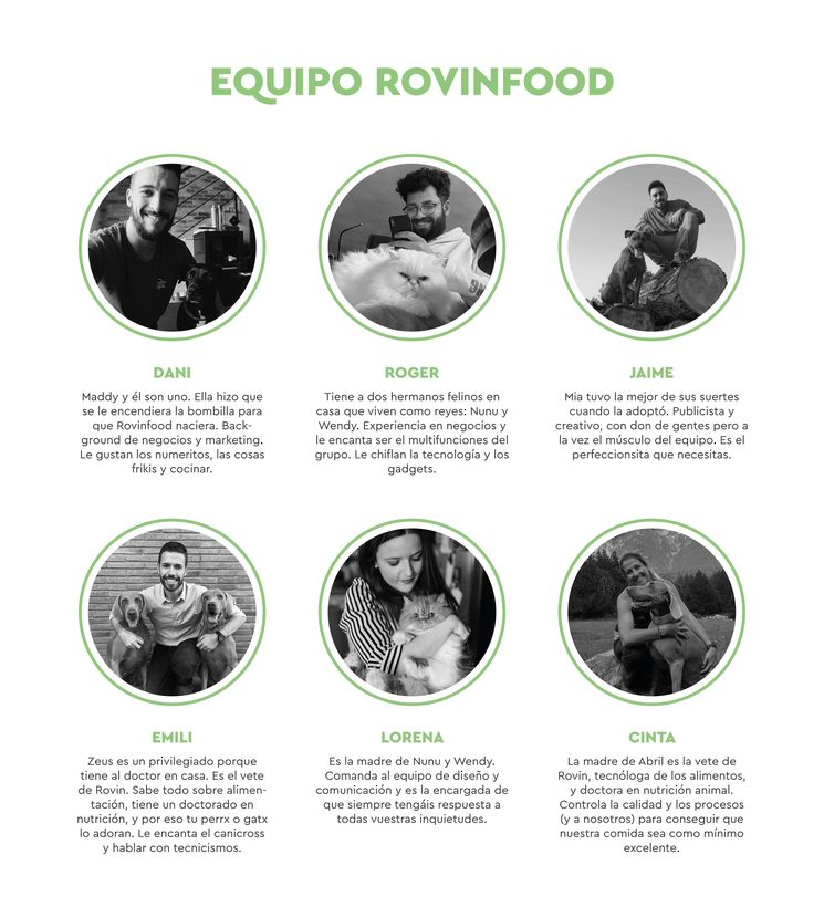 Equipo Rovinfood.