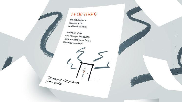 Vinyeta poètica del dia 14 de març