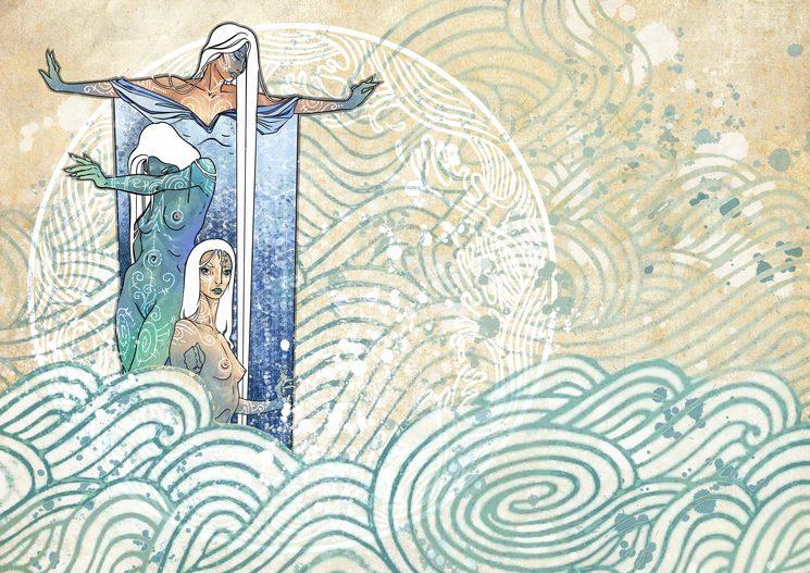 Religión. Ilustración de Daniel Jimbert.