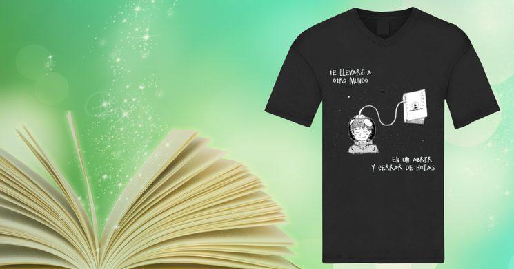 Camiseta Te llevaré a otros mundos