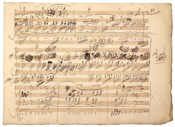 Autógrafo de Beethoven