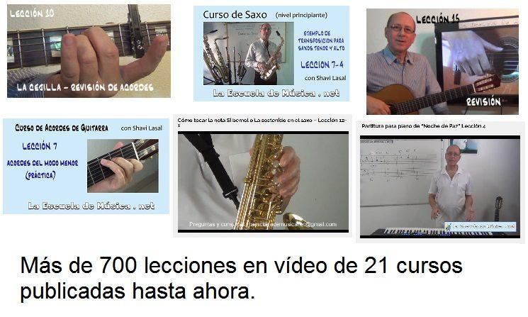 Una escuela de música en internet con 5 años de experiencia.