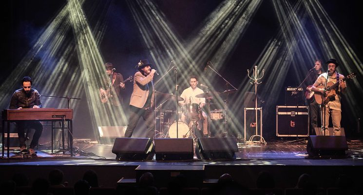Duende Josele y La Banda Ingrávida en concierto #CulturaSegura