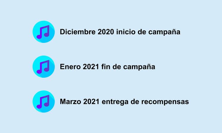 Este es el calendario del proyecto