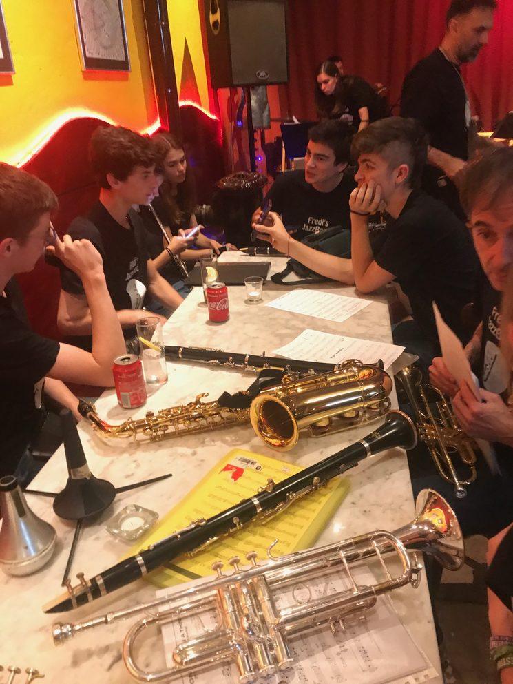 Preparació dels nostres músics abans d