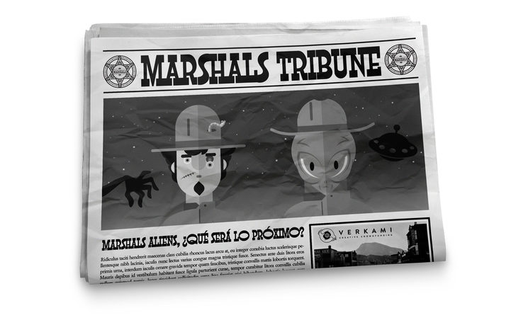Marshals Aliens, ¿qué será lo próximo?
