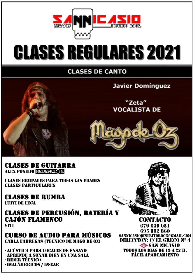Clases regulares año 2021