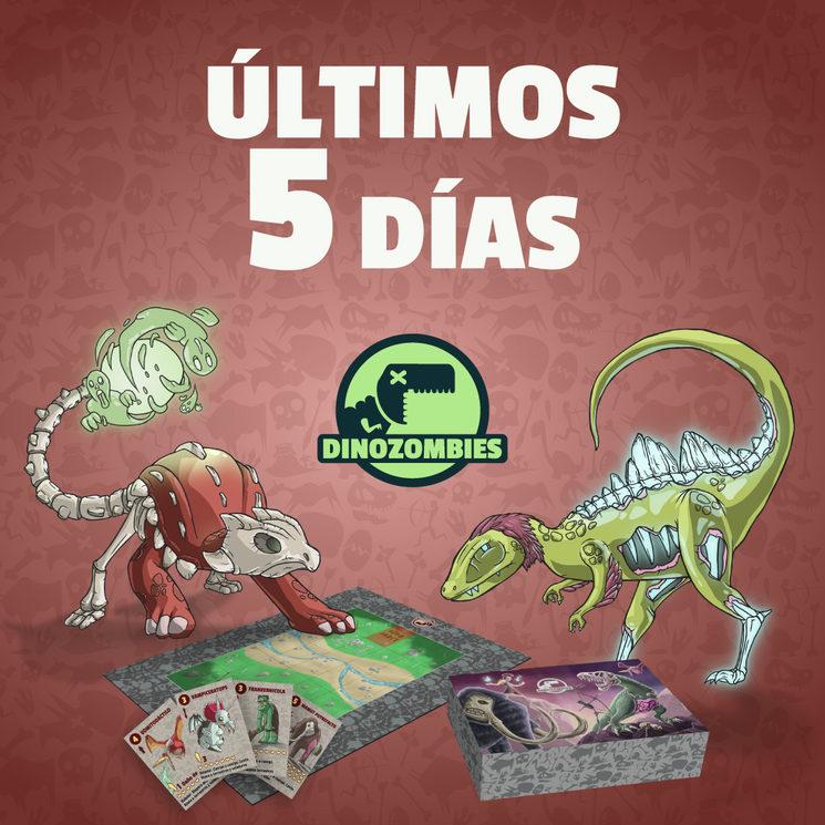 Últimos 5 días para conseguir Dinozombies