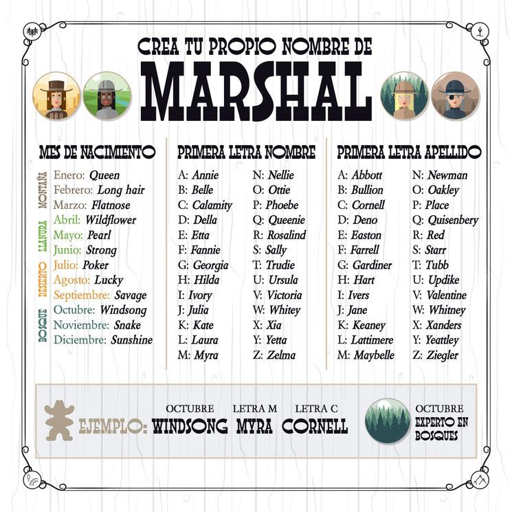 Mujeres Marshals