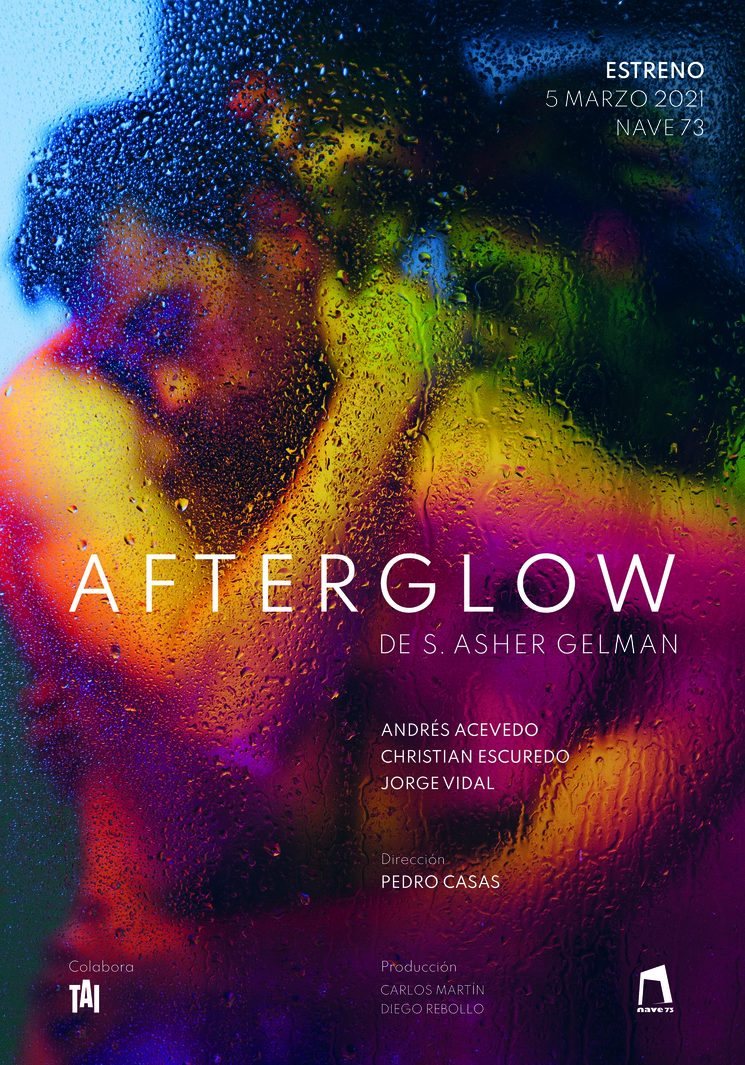 Afterglow. Cartel original.