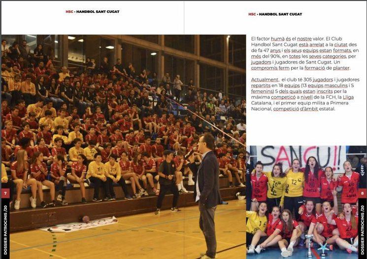 Presentació equips Club Handbol Sant Cugat