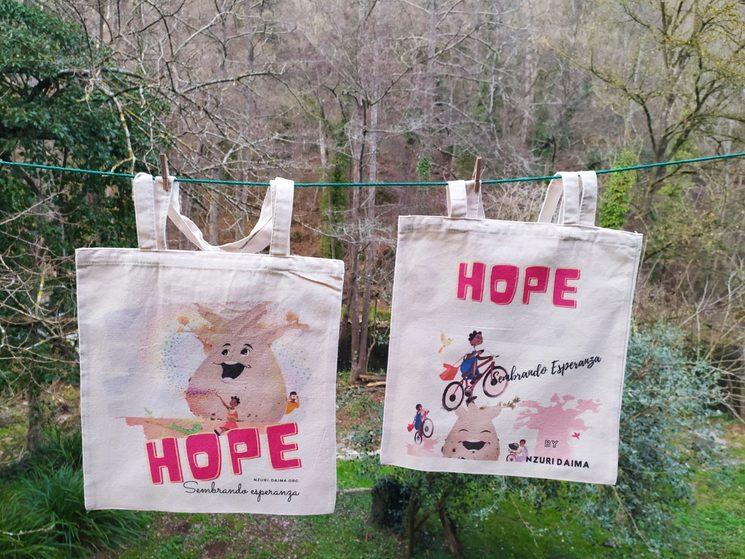 Bolsas de algodón HOPE