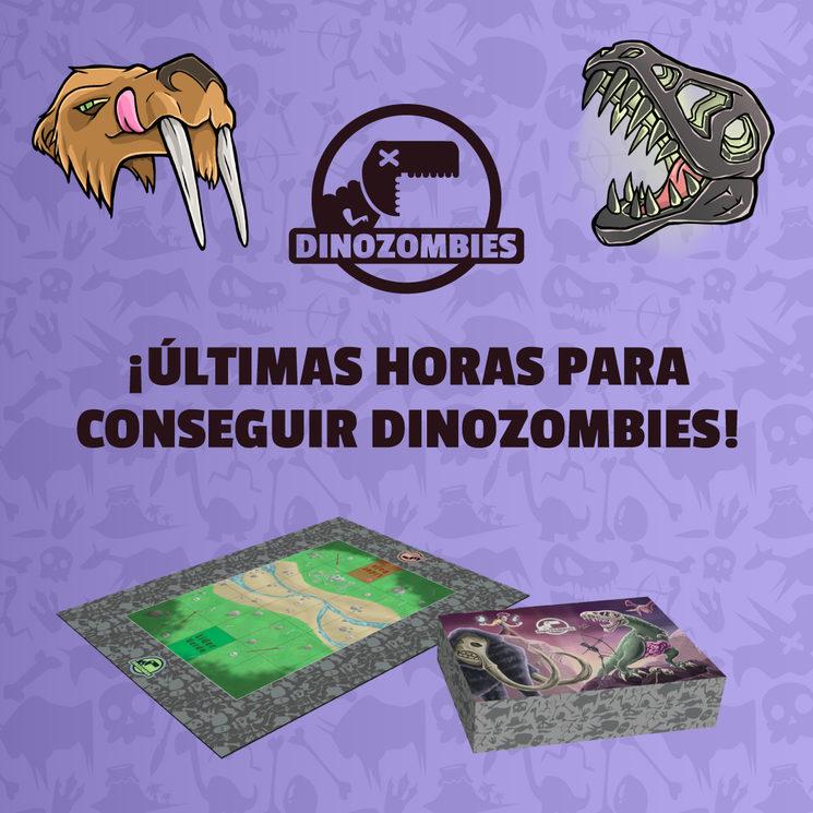 ¡Últimas horas para conseguir Dinozombies!