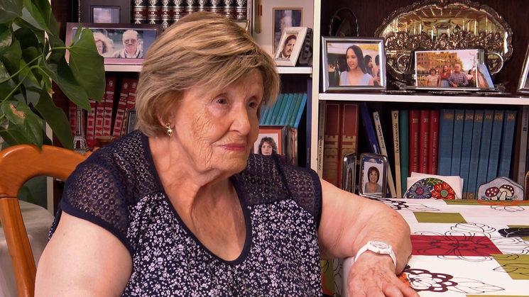 Angelita Nieto Alonso / Hija de asesinado