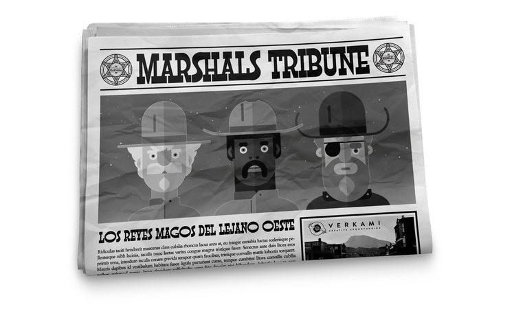 """Los 3 Marshals """"Majos"""""""
