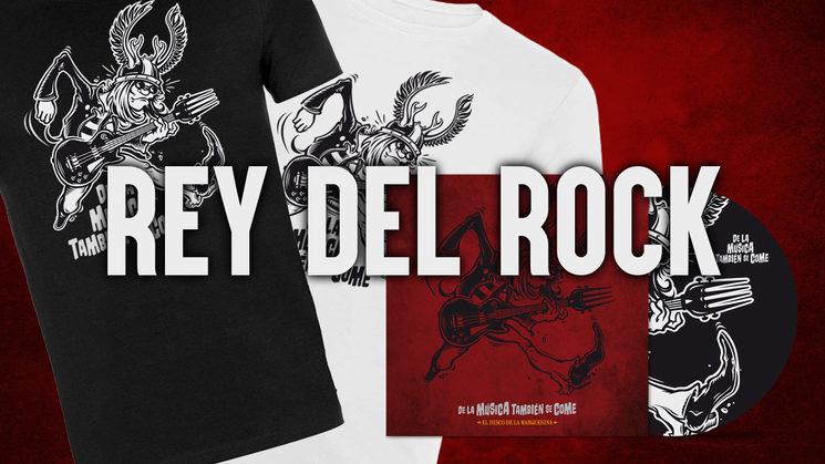 Mecenas Rey del Rock