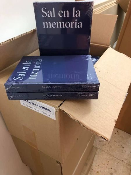 Los libros recién llegados y listos para enviar.