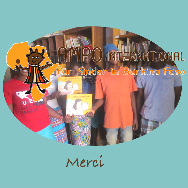 4 libros/Bücher/books/livres en Burkina Faso