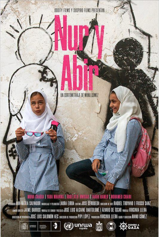 Poster Nur y Abir
