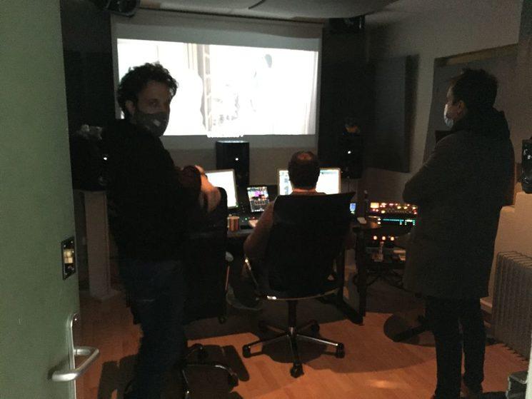 Mezclando sonido con Barto Alcaine y Álvaro de Iscar