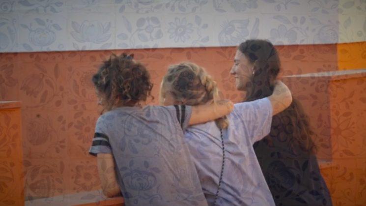 Nuestros personajes (dcha a izq.): Marta, Patri y Ana.