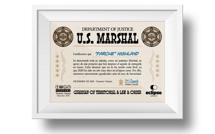 Diploma MARSHAL