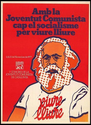 Un cartel histórico de la JCC