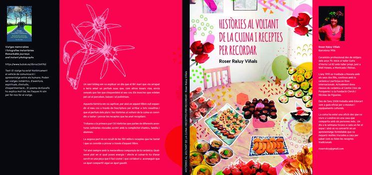 """llibre """"Històries al voltant de la cuina i receptes per recordar"""""""