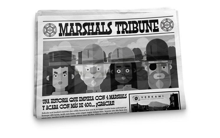 ¡Más de 400 Marshals!