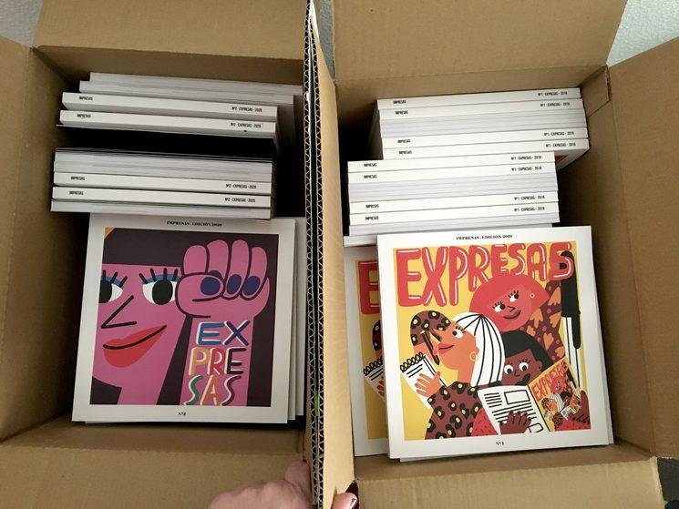 Tenemos un montón de cajas como estas ¡llenas de talento queriendo salir!