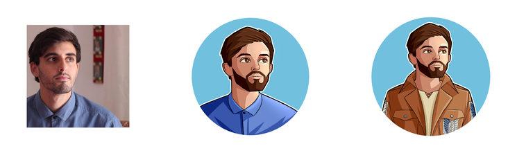 Ejemplo Avatar personalizado