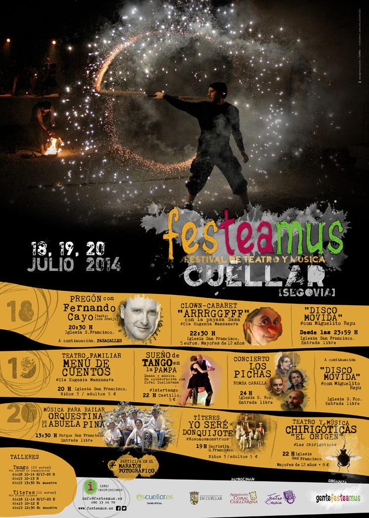 Festeamus, Teatro y Música
