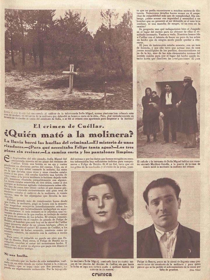 El Crimen de la Corredera 1935