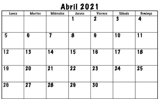 Durante el mes de Abril se entregaran todas las recompensas