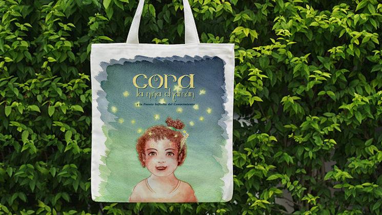Bolsa de tela de Cora