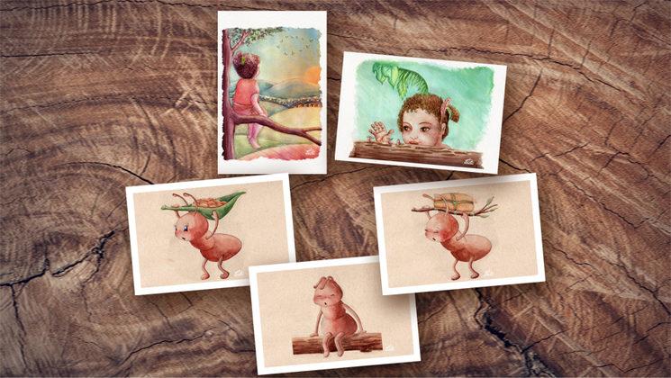 """Postales de """"buen viaje"""" por el Universo"""