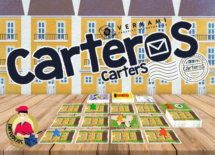 Carteros en Verkami