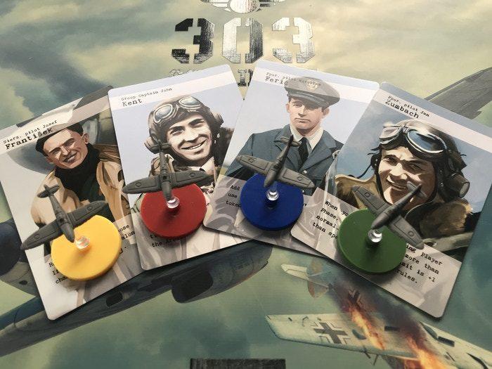 Pilotos del 303 Squadron