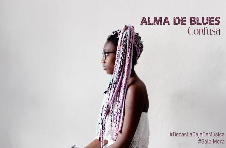 """Promo para RRSS del videoclip de Confusa, """"Alma de Blus"""", estrenado en el verano del 2020"""