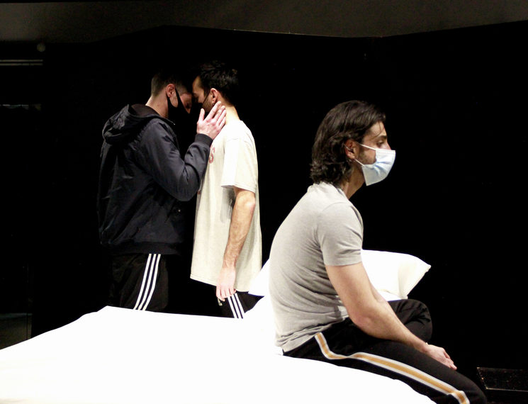Ensayos AFTERGLOW: Andrés Acevedo, Jorge Vidal, Christian Escuredo