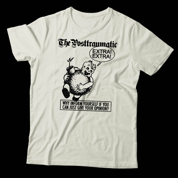 The Posttraumatic t-shirt by Joan Manel Pérez