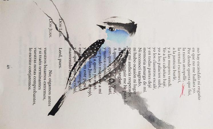 """""""Pájaro literario"""""""