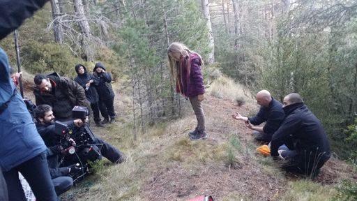 La pequeña actriz, de 9 años, encarna a la perfección el papel de LUCÏA, ayudada por la coach, Laura Giberga, y el director, Juan Pato
