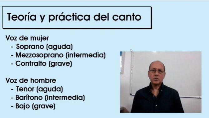 Teoría y práctica del canto